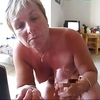 60yo fat-assed french wife making a blowjob