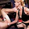 Mature milf dominatrix anal strapon toys and cumshots