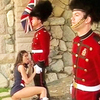 Royal british guards tested by hot cock sucker