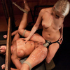 Tattoed domina anal torture and whipping
