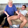Wild sex with fat blonde granny