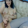Adorable raven klutz Vallie Beuys bushy pussy