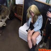 Amateur pawnshop teens paid for lesbian kiss