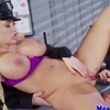 Busty scissor sisters love to have fun