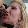 Glamcore blonde assfucked deeply till the orgasm