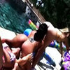 Kristin And Her Porn Friends Show Off Their Sex Filled Lifes Poolside In Bikinis