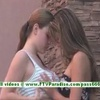 Emily and Danielle adorable lesbian teenages public flashing