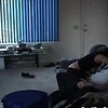 Horny couple getting caught on cam