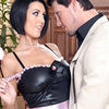 Hot Horny Slut maid Dylan Ryder sucks her boss and fucks him hard.