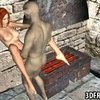 3D Redhead Fucked By A Goblin
