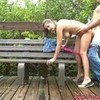 Naughty Couple Fucking Outdoor Gets Caught