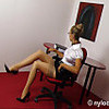 Nylon encasement secretary