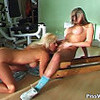 Piss; Gym lesbian game with two super