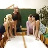 4 German School Girls and Teacher