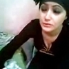 Arab hijab  girl flashing