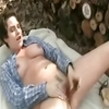 Bbw ex girlfriend masturbating and squirting on the woods