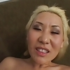 Blond Asian with Great Backside Pounding