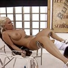 BLONDE IN PLATFORMS FISTING AND ANAL