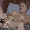British slut katie plays with herself in various scenes