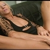 Granny claudia fucked by a dildo and a bbc