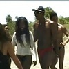 Hairy Ebony Gets Fucked Hard In Camping