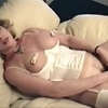 Horny wife loves pain while she masturbates