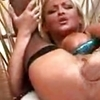 Hot mature woman get fist in pussy and ass