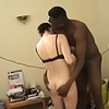 Hubby gets sloppy seconds after wife is black bred