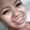 Lean tight-bodied Filipina teen with cute braces fucked hard