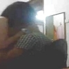 Malay teen couple in rent house