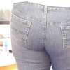 My wife teasing in her jeans