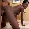 Shy african hooker  get  paid