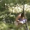 Spying my cousin in wood ! hidden cam