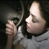 Sweet girl gives her boyfriend a tender blowjob!