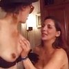 Two horny pregnant chicks have wet hard fun