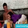 Messy orgy with rich girls and blowjobs