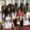Russian schoolgirls