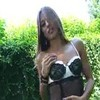 Stunning petite Dominika strips in the ga ...