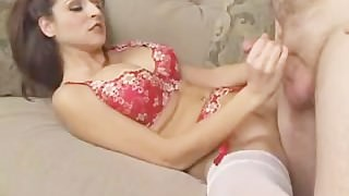 paris kennedy gets nasty and takes cum