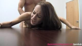 Skinny Waitress Creampie Casting Couch - FULL VIDEO