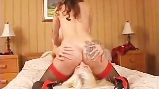 Summer Cummings & Puma Swede lick pussy and ass