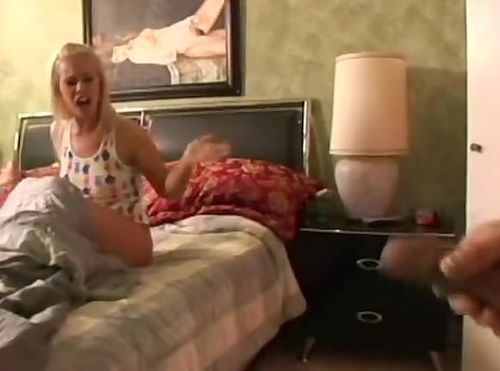 Andi Anderson Gets Harrased By Mr Dirty Harry