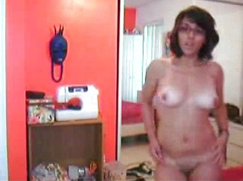 Sexy Brunette With Glasses Striptease Dancing 101