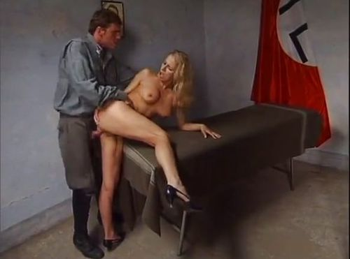 Nazi Men Use Their Powers Against Helpless Bl