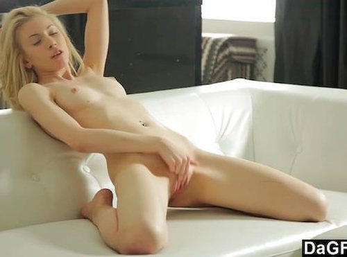 Perkey Tit Teen Pleasing Herself