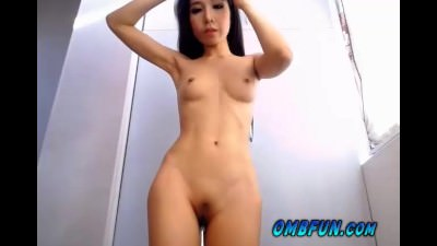 Wet Pussy Asian OhMyBod Vibrator Body Shaking Orgasm Cam Session OMBFUN.com