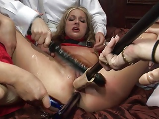 Anal Lesbian Orgy With Ashley Blue