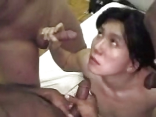 Asian wife deep fucked by multiple bbc and cuck  - cireman