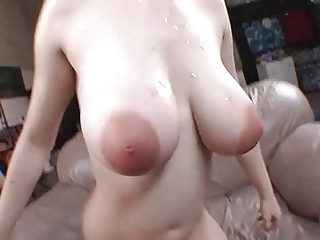 24yr old 36ff girlfriend sucking dick in the shower 6