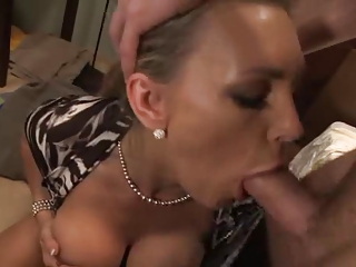 Best friends mom caught me jerking